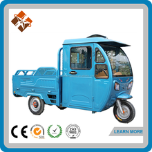 hot sale electro bike cargo scooter with roof