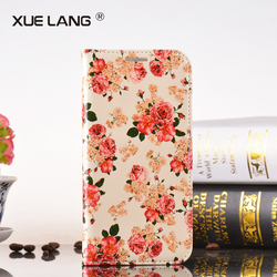 Factory Price Fashionable PU Phone Case Leather Case for huawei p6