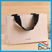 Shopping Industrial Use Hand Length Handle luxury brand Paper Carry Bag