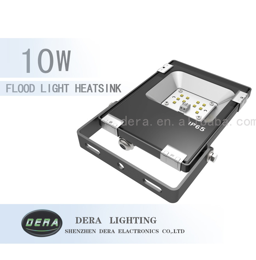 130LM/W IP65 with Philips 3030 led outdoor lights flood light 10W