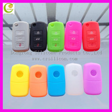 Fancy flip remote key case for cherrycar key remote cases,for with chip groove remote key blank