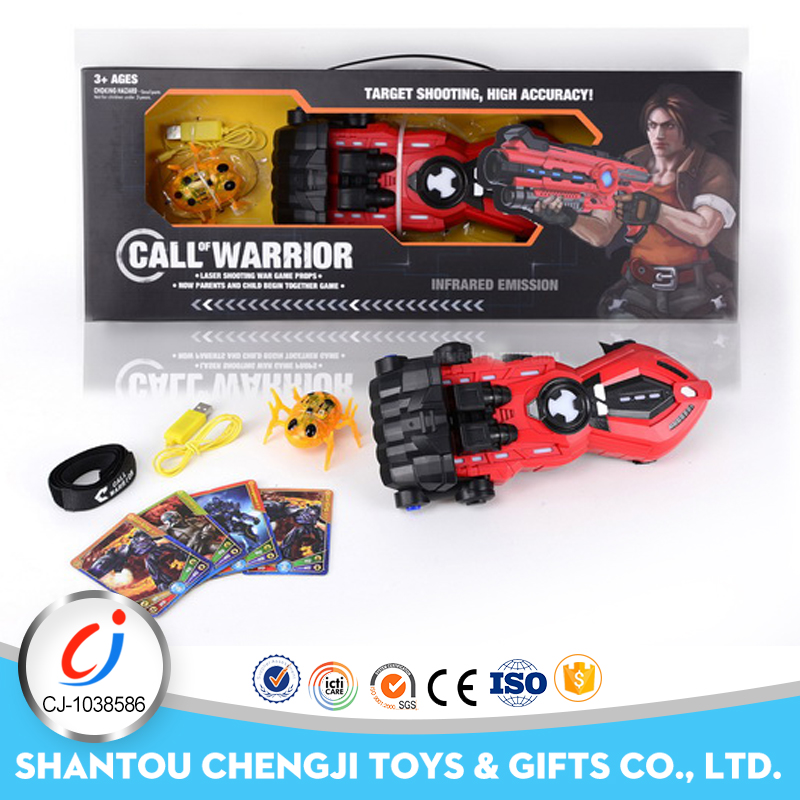 China manufacture plastic electric toy guns with gun powder game toy for kids