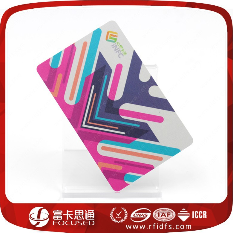 High Quality Fashionable Printing Uhf RFID Card For Access Control