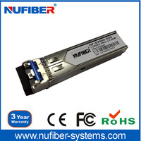 China SFP Factory Supplier 1.25G 1310/1550nm LC Transceiver Compatible Cisco Switch