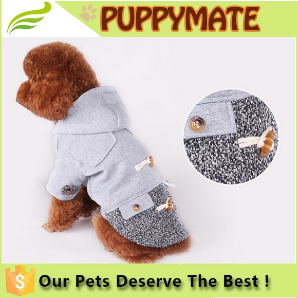Wholesale heavy winter dog clothing/warm-keeping clothes for pets/hoodie pet clothes