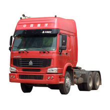Cheap price 6x4 25tons capacity Howo trailer head / tractor trucks