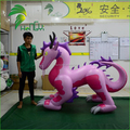 Newly Design Pink Chinese Inflatable Carnival Dragon,Giant Inflatable Animal Toys For Advertising