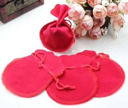 Hot Sale Gift Pouch Eco-friend velvet Bag Jewelry Pouch