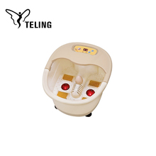 Plastic basin body care electrical vibrator massager for foot