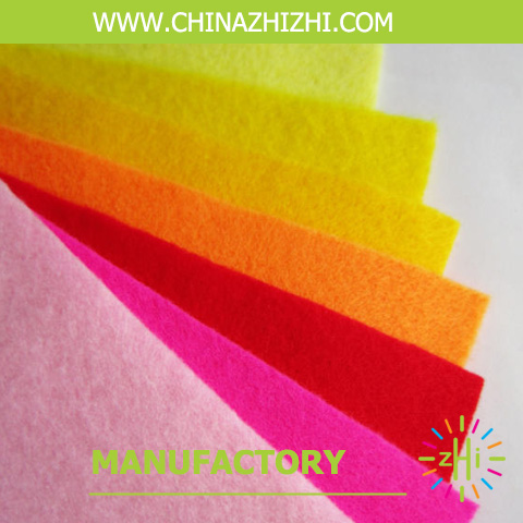 2017 alibaba colorful nonwoven fabric felt,felt wool,2mm thick felt sheets for sale from china shanghai songjiang