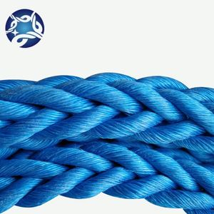 8mm Poly Danline Rope PP 3 Strand Twisted Rope