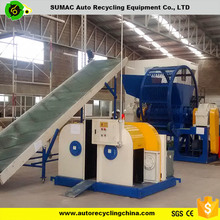 High quality automatic waste tire recycling plant for rubber crumbs