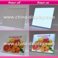 Acrylic frame tabletop laser led lighted interactive led table