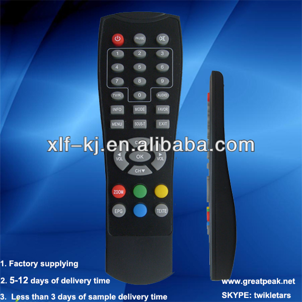 Flexible Six-axis Gyro- Sensor Fly or Air Mouse /2.4G wireless remote control for Android system, PC, Smart TV and IPTV