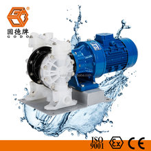 motor driven chemical transfer electric operated double diaphragm pump