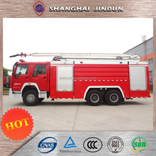 Dongfeng 4*2 Type 120 Hp 4000 Liter Telescopic Boom Fire Truck