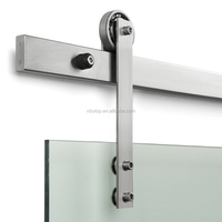 STAINLESS CLASSIC BARN DOOR HARDWARE