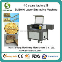 china high quality SM-5040 cnc router co2 100w laser engraver/cutter