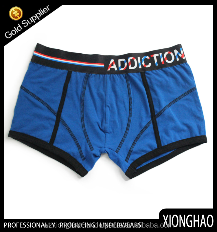 Factory professionally producing high quality and cheap price thick cotton underwear for man