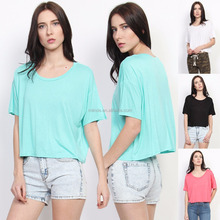 Top Brand Casual T-shirts Boxy Slouchy Short Sleeve Loose Fit Crop Top Casual Fashion T-shirts Dry Fit T-shirt Fashion Fit Blank