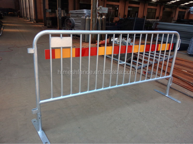 Fixed Leg Crowd Control Barrier/Bike Rack Style Steel Barrier/ event fence barricade /tubular road bar barrier