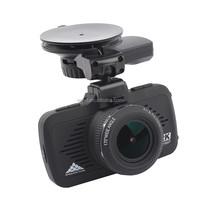 Ambarella 2.7 Inch Wide Angle car recorder camera 3 in 1 With GPS Speed Warning Dash Camera