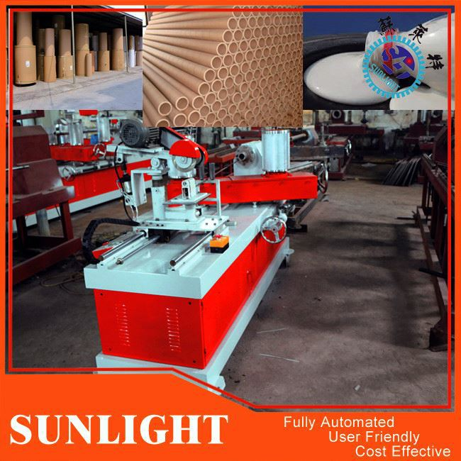 Long Mailing Paper Can Forming Machine