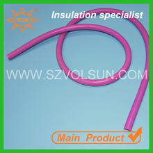6mm Medical Grade Acid Resistant Silicone Rubber Sleeve