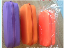 Candy Color Silicone Pencil Case Silicone Coin Wallet Silicone Key Case