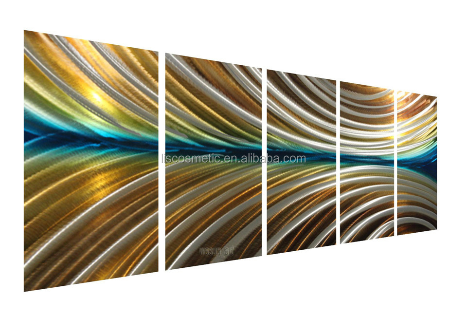 Hot selling 3D aluminium wall arts