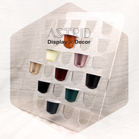 Customize Acrylic Capsule Storage Cabinet Coffee Pods