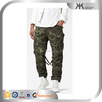 men military camo cargo pant baggy camo pants with side pockets