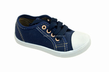 Wholesale stylish kids canvas shoes manufacturer