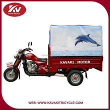 Top selling for rural area cargo tricycle with close cabin