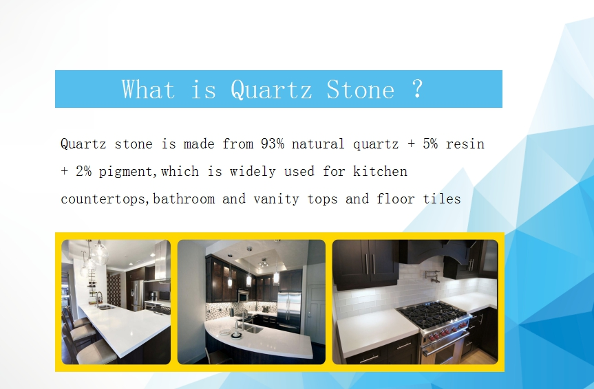 Artificial Quartz Stone Slabs Decoration Quartz Stone