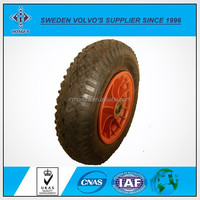 Pneumatic Swivel Casters / Rubber Wheel