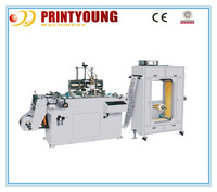 WQ-320 Automatic safety mark screen printing machine for good sale