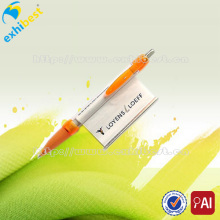 Hot selling cheap plastic banner ball pens for sale
