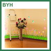 Custom Home Decor PVC Flower Wall Stickers