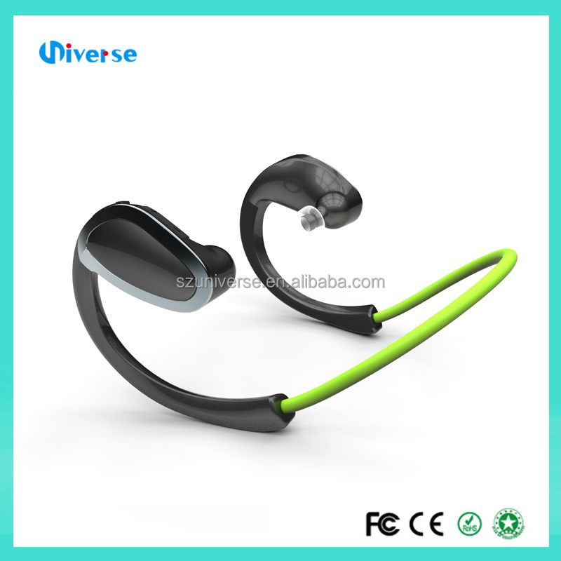 2016 Hot Sell Colorful Wireless Sport Stereo V4.1 Bluetooth Headset wireless bluetooh earphones earbuds