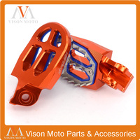 CNC Billet MX Foot Pegs Rests Pedals For KTM EXC SX SXF XCF SMR 125 250 300 450 85 525 Motocross Dirt Pit Bike Supermoto Enduro