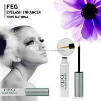 4 weeks promote eyelashes longer and darker twice use pure natural FEG eyelash enhancer serum