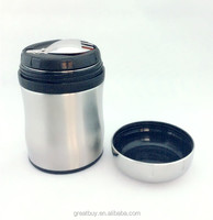stainless steel 600ml insulated food container lunch box