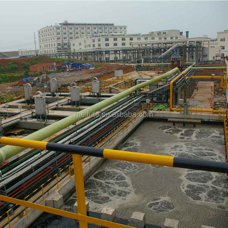 Pharmaceutical chemical wastewater project show effluent treatment plant