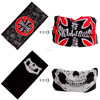 Multifunctional Fashion Tube 100% Polyester Neck Gaiter Bandana face mask skull