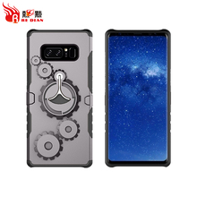 China supplier mobile phone case tpu pc,3 in 1 shockproof protective cover rugged case for samsung note 8