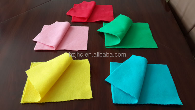 100% Polyester needle punched nonwoven print fabric