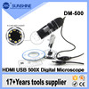Hot Sale Mini 500x USB 2.0 Scanning Electron Microscope With HD Camera