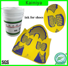 Water based high density ink for sports shoes upper