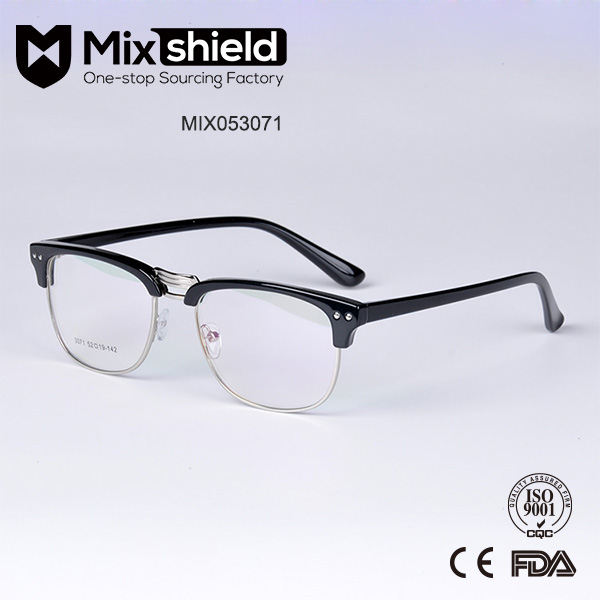 Flexible TR90 Material Fake Designer Eyeglasses Frame
